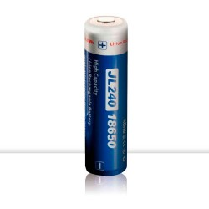 Batería Recargable 18650 3,7V 2,400 mAh
